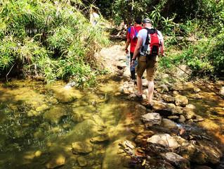 Hiking tracks near of Trinidad