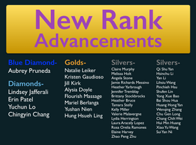 March 2017 Rank Advancements