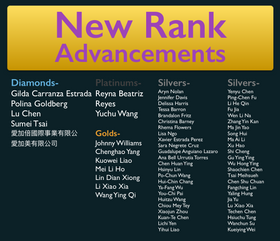 April 2017 Rank Advancements