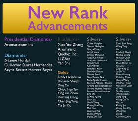 May 2017 Rank Advancements