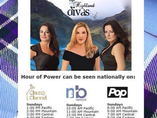 The Highland Divas on Hour of Power