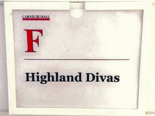 The Highland Divas Carnegie Hall Debut - Street Requiem