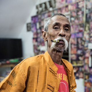 Lu Maw of the Moustache Brothers
