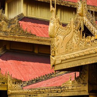 Roof at Mandalay Royal Palace