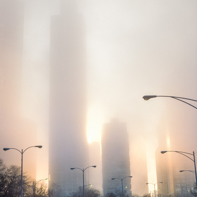 Chicago in the Mist,1989