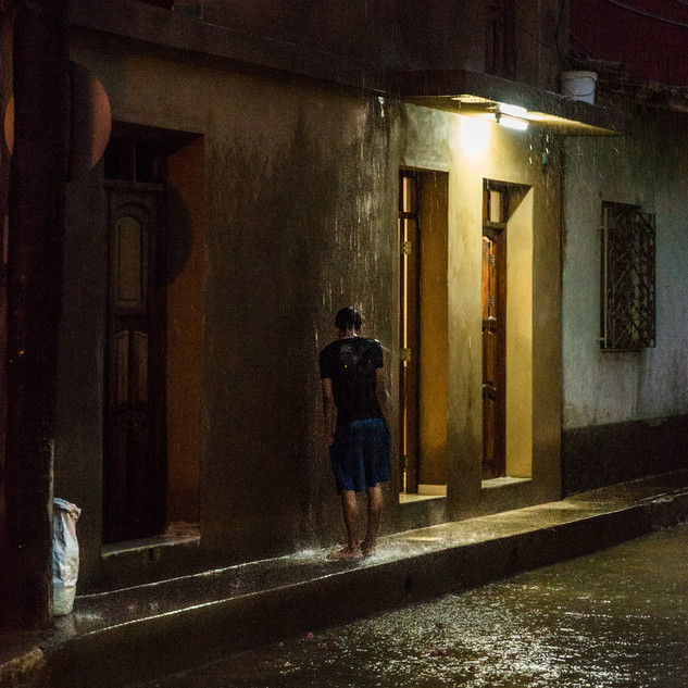 Rainy night in Trinidad