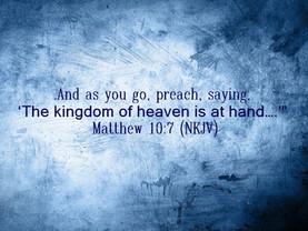 As You Go, Preach!