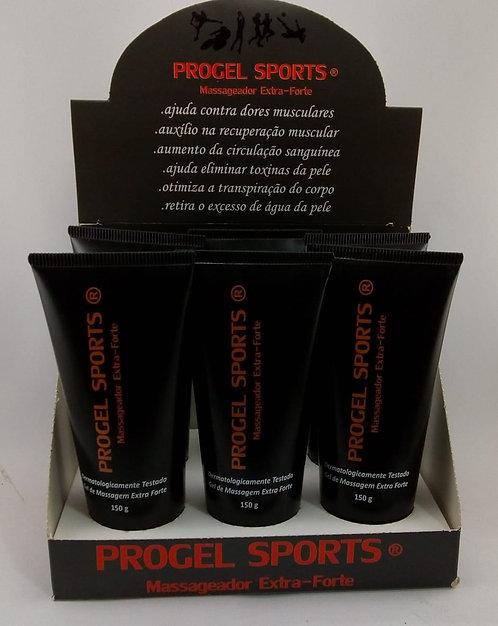Progel Sports Massageador Extra-Forte Caixa 6 unidades