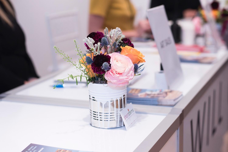 Art Show Reception Desk