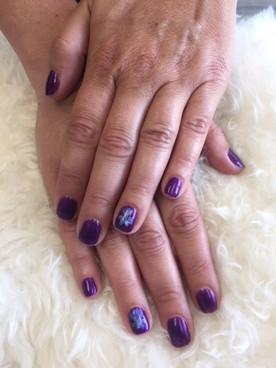 Shanri La Nails Flower design