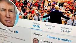 Trump blocks critics