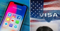 US Visa social media