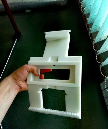 Элемент вкатного устройства для труб большого сечения