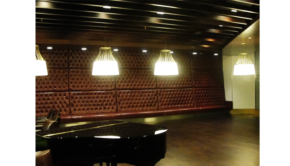 Leather Tufted Wall