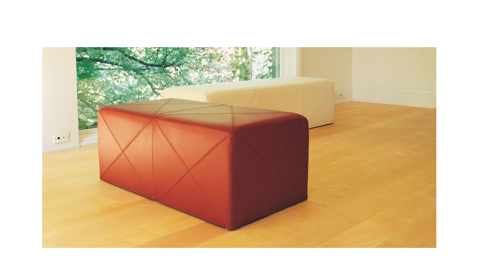 Blox Leather Benches
