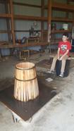 Jr Apprentice and future distiller