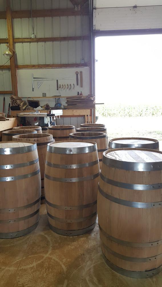 30 gallon barrels