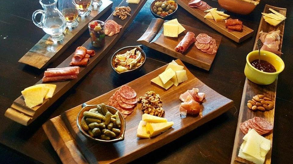 Large 3 stave Charcuterie Board