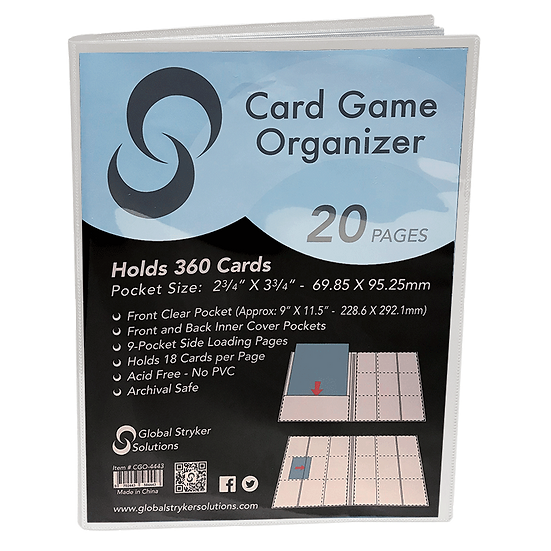 Stryker Card Game Organizer - White