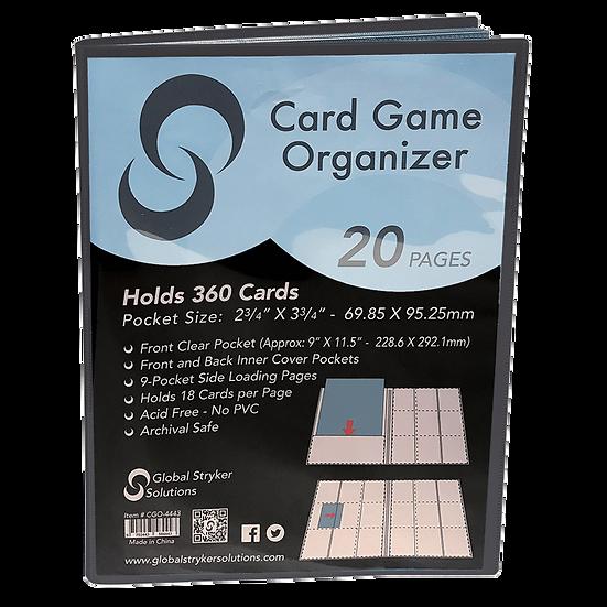 Stryker Card Game Organizer - Black
