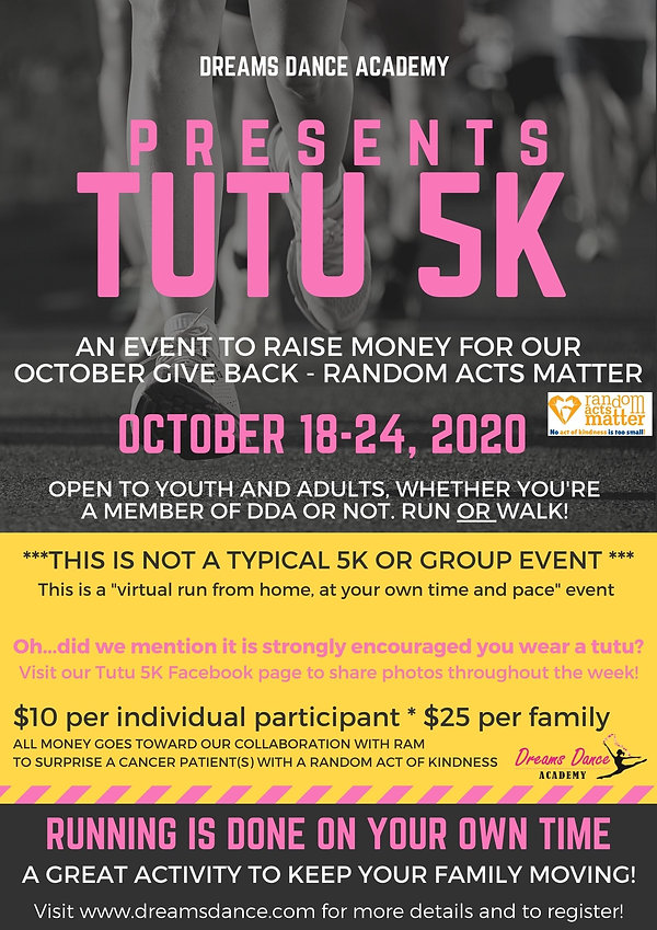 A FUN EVENT TO RAISE MONEY FOR OUR OCTOB