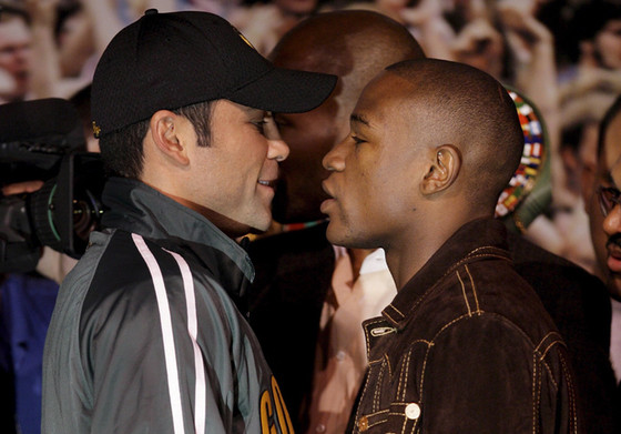 Mayweather vs De La Hoya 10 Years of Beef....and Counting