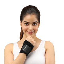 Wrist Support With Thumb - Neoprene
