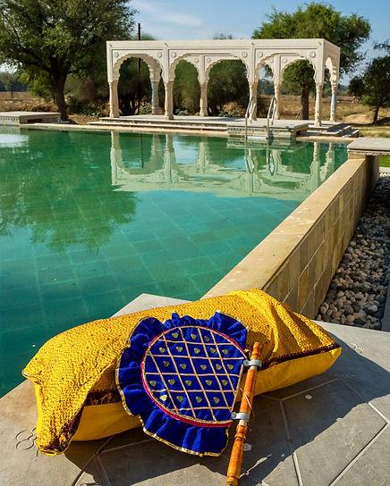 Pool at Johad