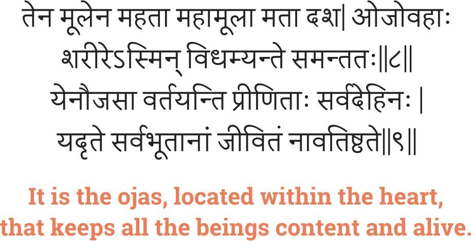 Charak Samhita - Arthedashmahamooliya Adhyaya, Sutra Sthana, Chapter 30.
