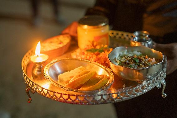 Festive thali