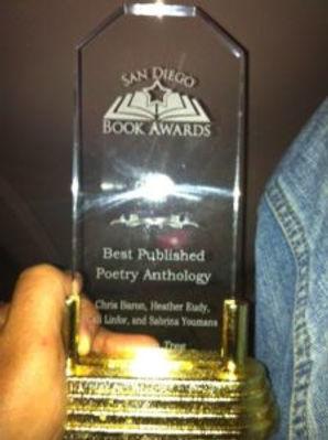 Chris-Baron-San-Diego-Book-Award-Trophy-