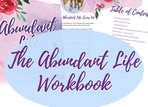 The Abundant Life Series Workbook