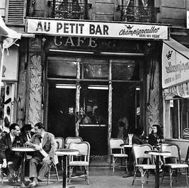 Vieux Paris - Au Petit Bar en 1950 par E