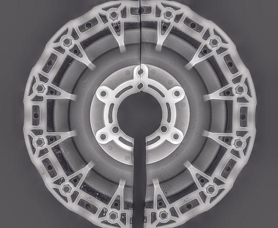 Engine Weel Casting