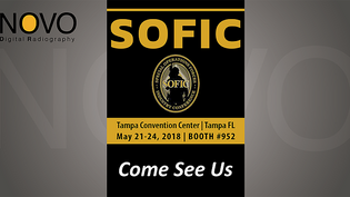 SOFIC 2018 Drop by and say Hello! Booth #952
