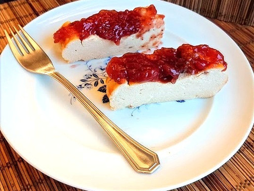 Cheesecake saudável e proteico