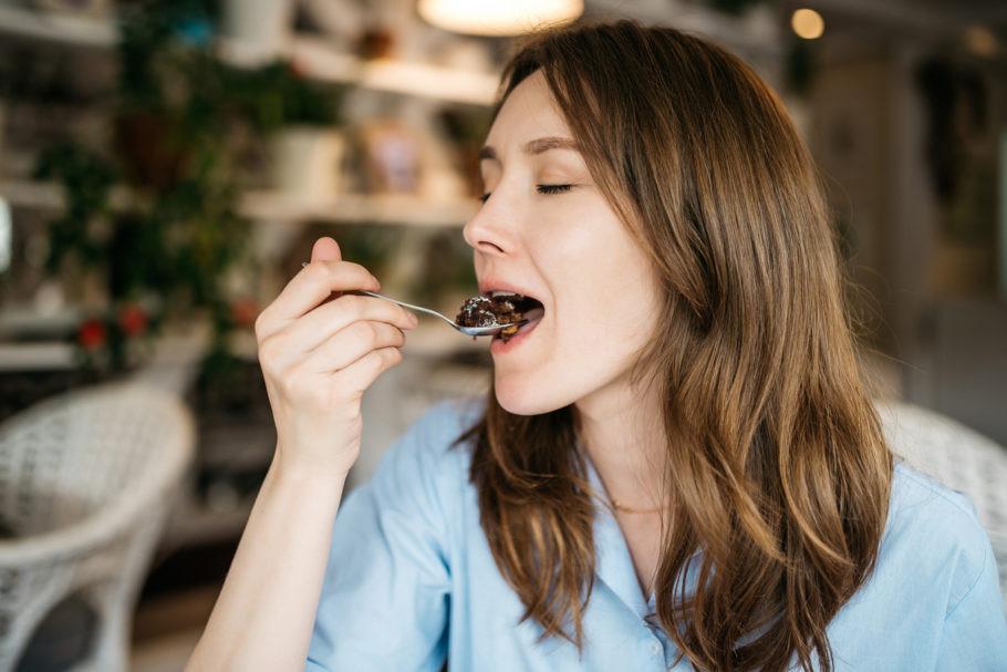 Comer com prazer