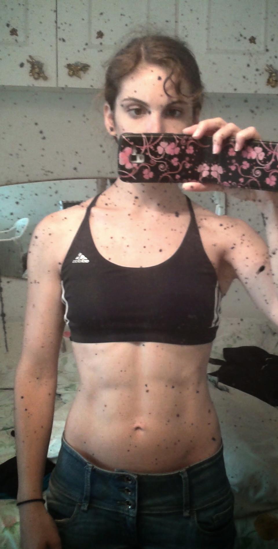 Eu própria já caí na armadilha de querer ser mais magra e ter um corpo perfeito. Era obcecada e miserável.