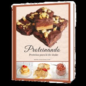 ebook proteinando receita de brownie de chocolate proteico