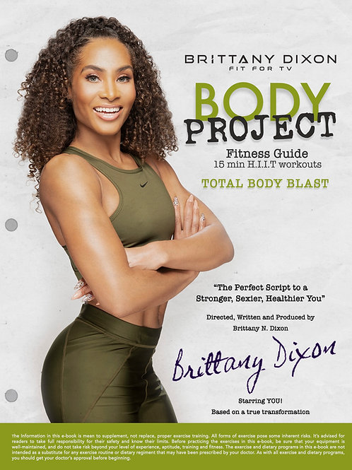 Body Project - 4 Week Fitness Guide