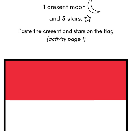 Let's learn about Singapore! Activity booklet