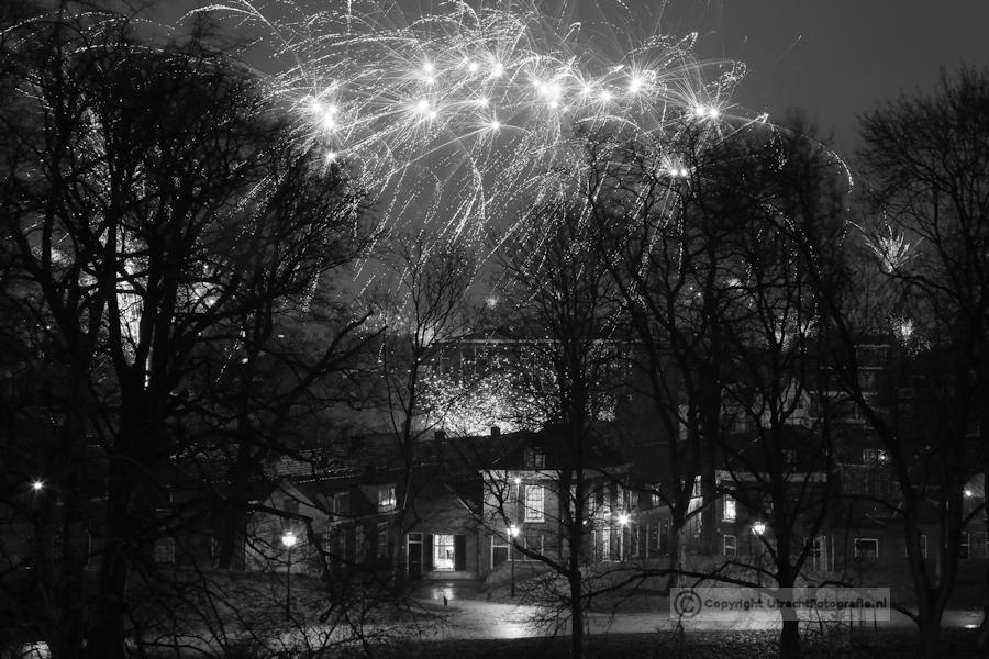 20130101 Vuurwerk Catharijnesingel 3a