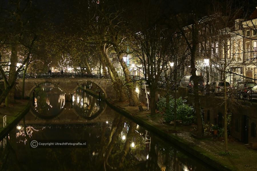 20131210 Oudegracht met Weesbrug