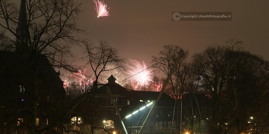 20130101 Vuurwerk Catharijnesingel 4