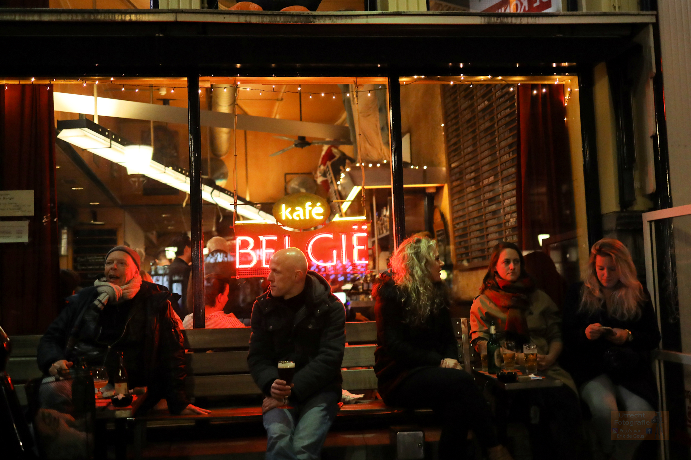 20181228 Oudegracht Kafe Belgie
