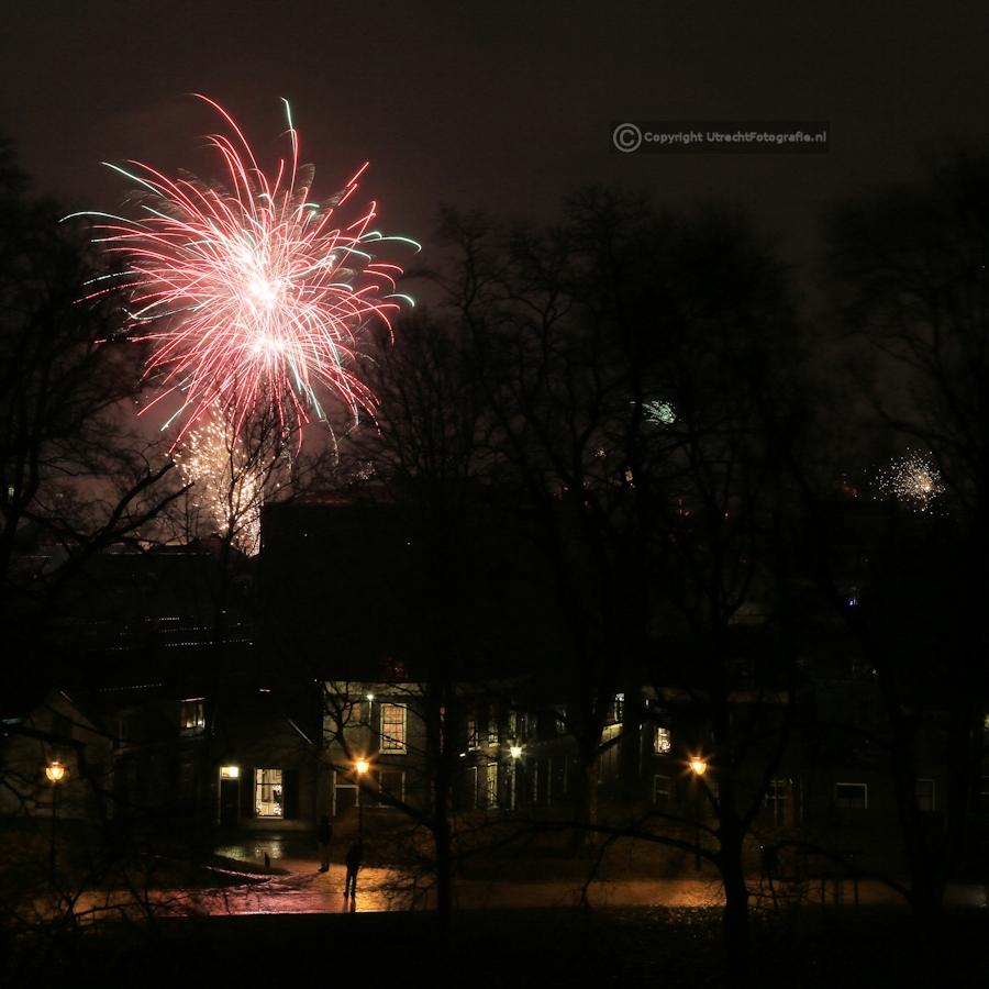 20130101 Vuurwerk Catharijnesingel 7