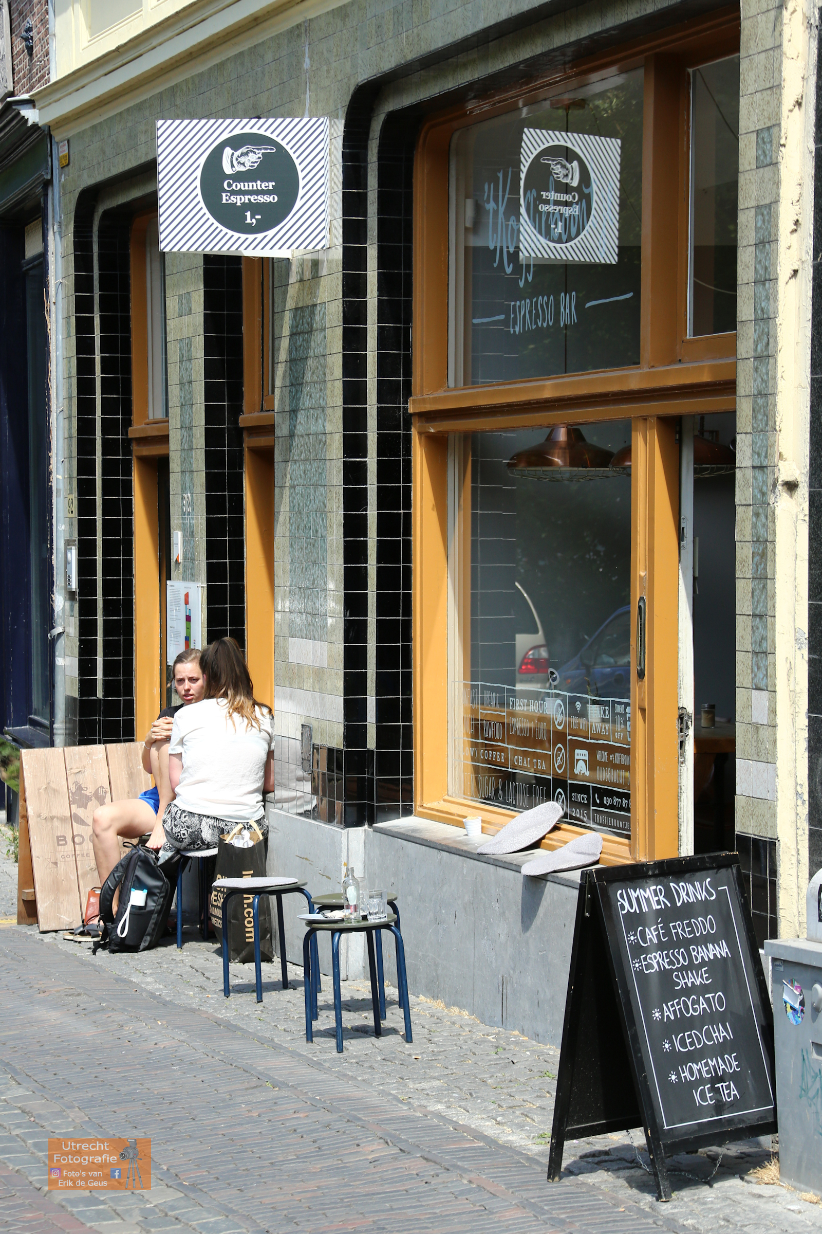 20180715 Oudegracht T Koffieboontje