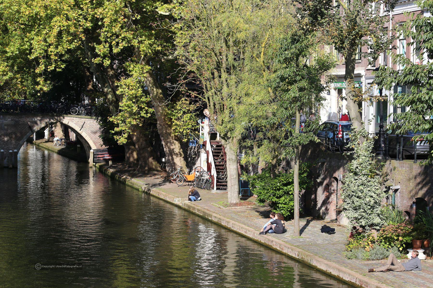 20171014 Oudegracht bij Weesbrug 1