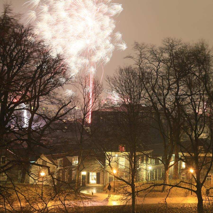 20130101 Vuurwerk Catharijnesingel 9