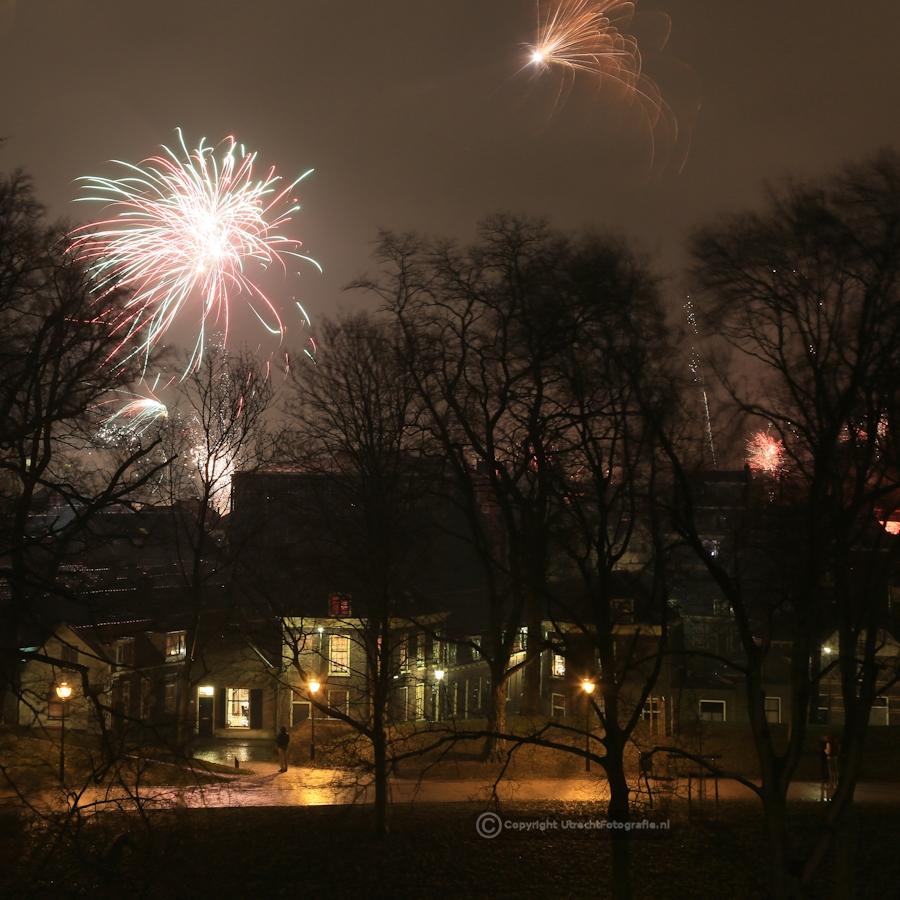 20130101 Vuurwerk Catharijnesingel 6